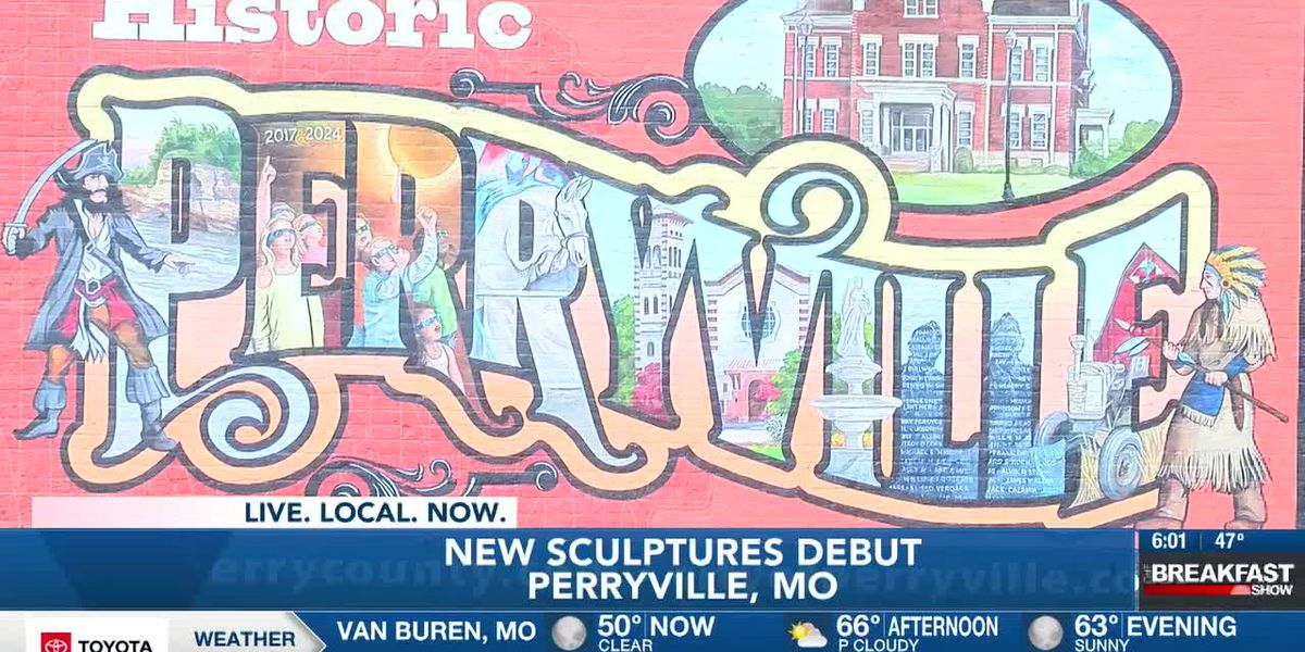 Perryville to open new outdoor art exhibit