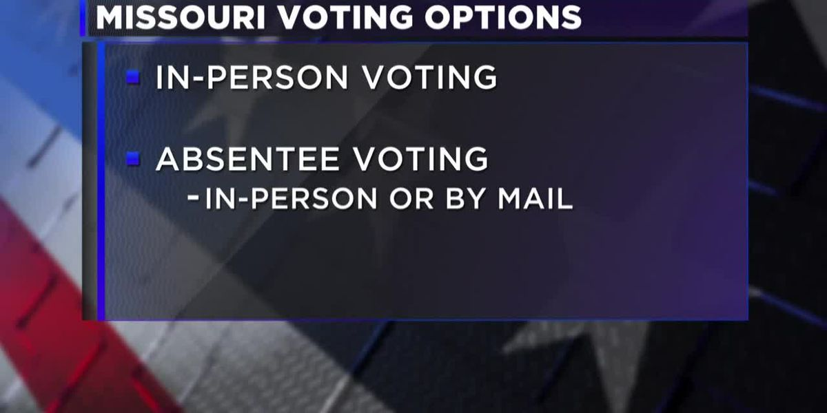 Secretary of State explains voting options for Missourians