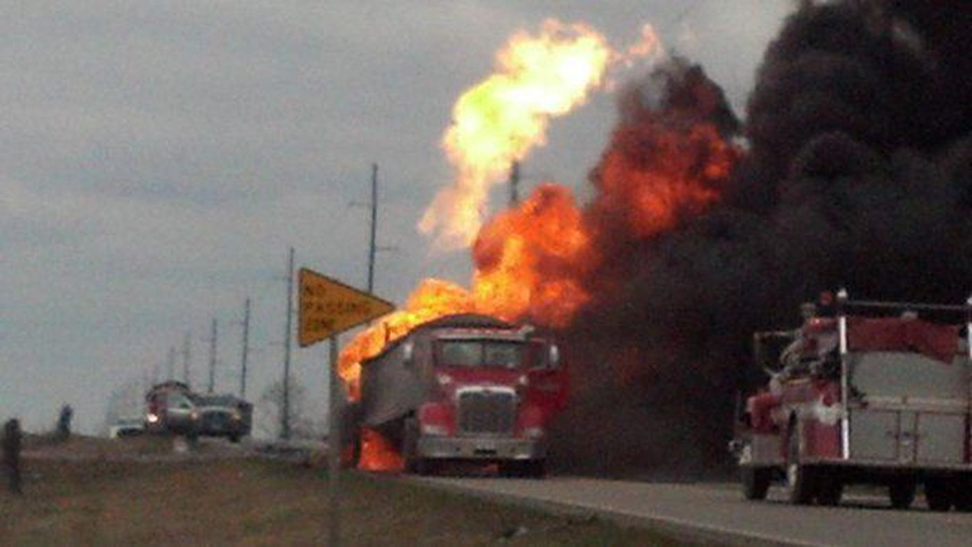 Names released of drivers involved in deadly propane truck crash