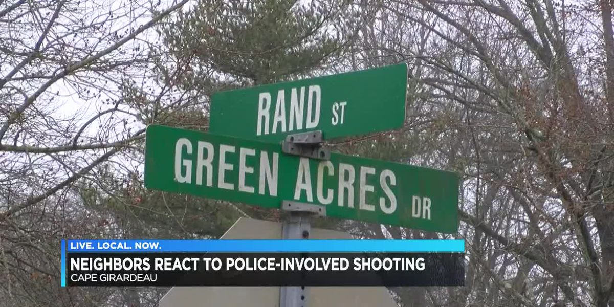 Neighbors react to officer-involved shooting