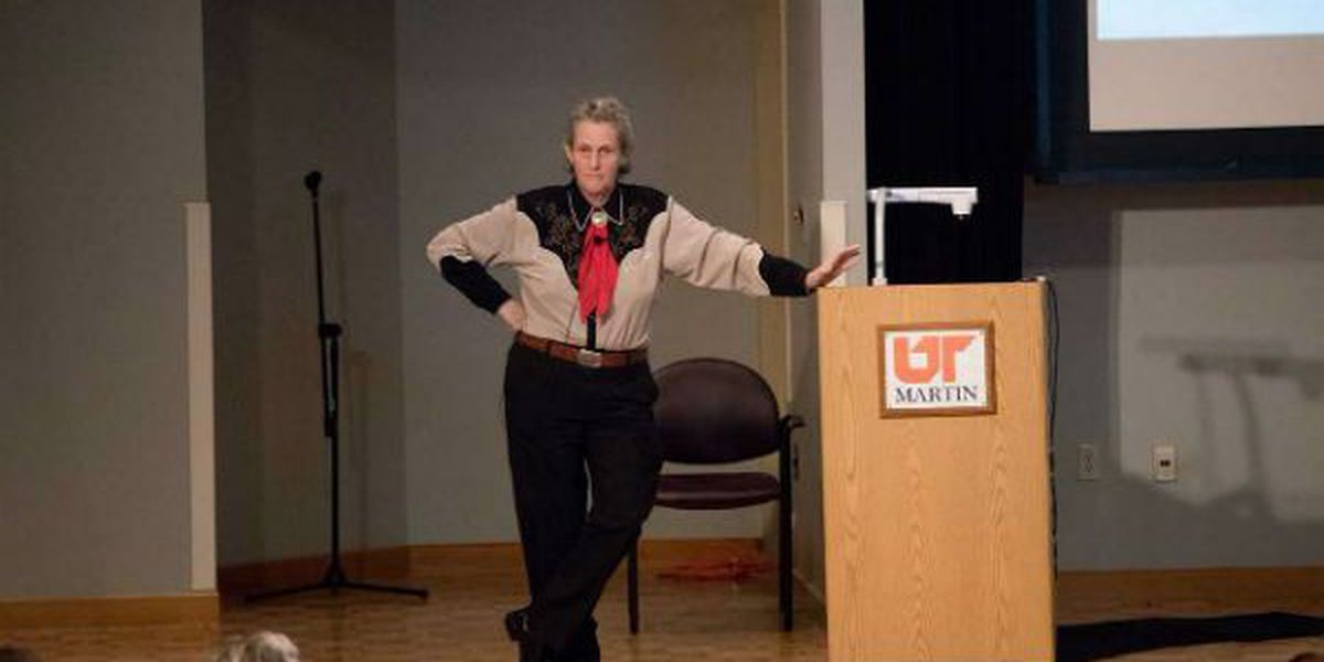 Dr. Temple Grandin speaks at University of Tennessee at Martin