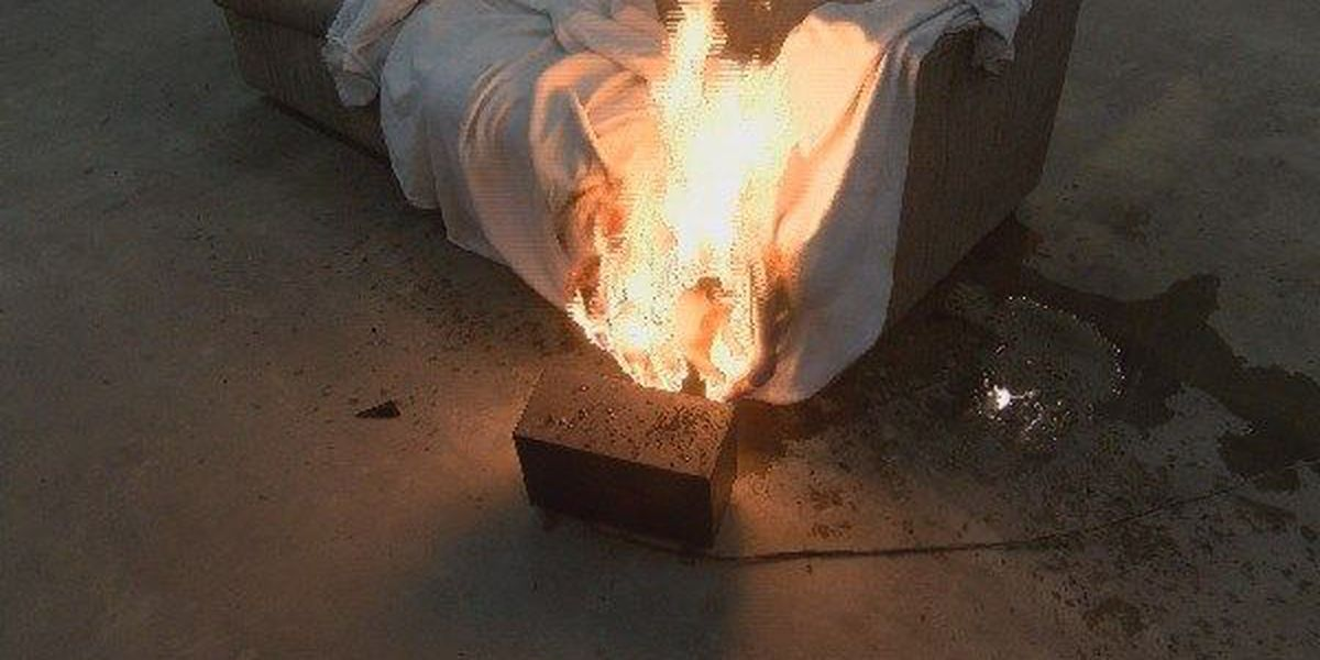 Scott Co. FD tests safety of space heaters