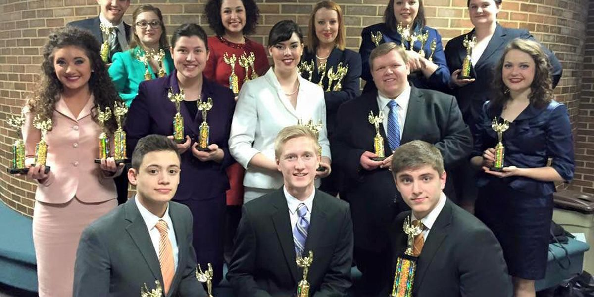 Southeastern Illinois College Forensic Falcons snare state championship in speech tournament