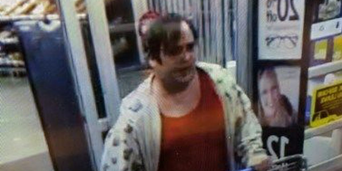 Paducah police looking for stolen gift card suspect