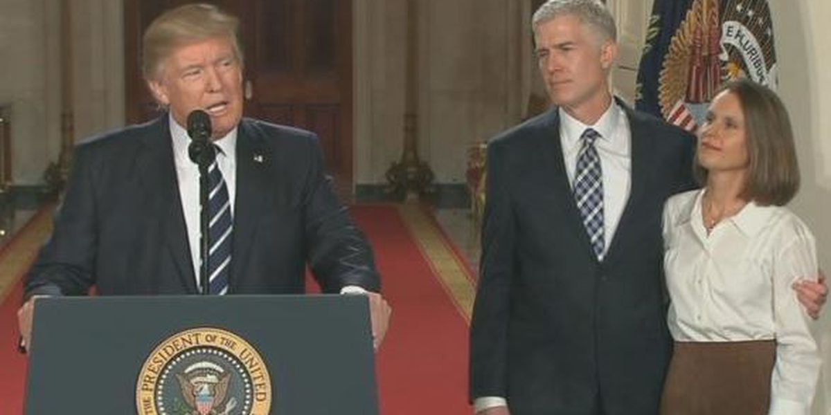 Pres. Trump picks Neil Gorsuch as nominee for U.S. Supreme Court
