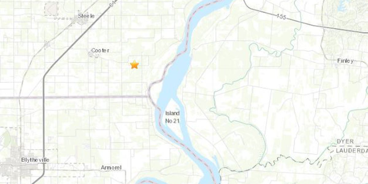 Small earthquake rumbles in Steele, Mo.