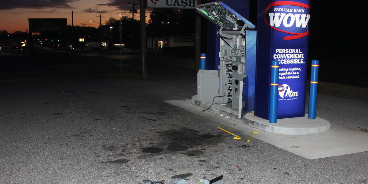 Paducah Police investigating ATM theft