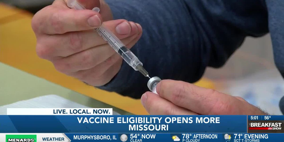 All Missourians 16 and older eligible for COVID-19 vaccine