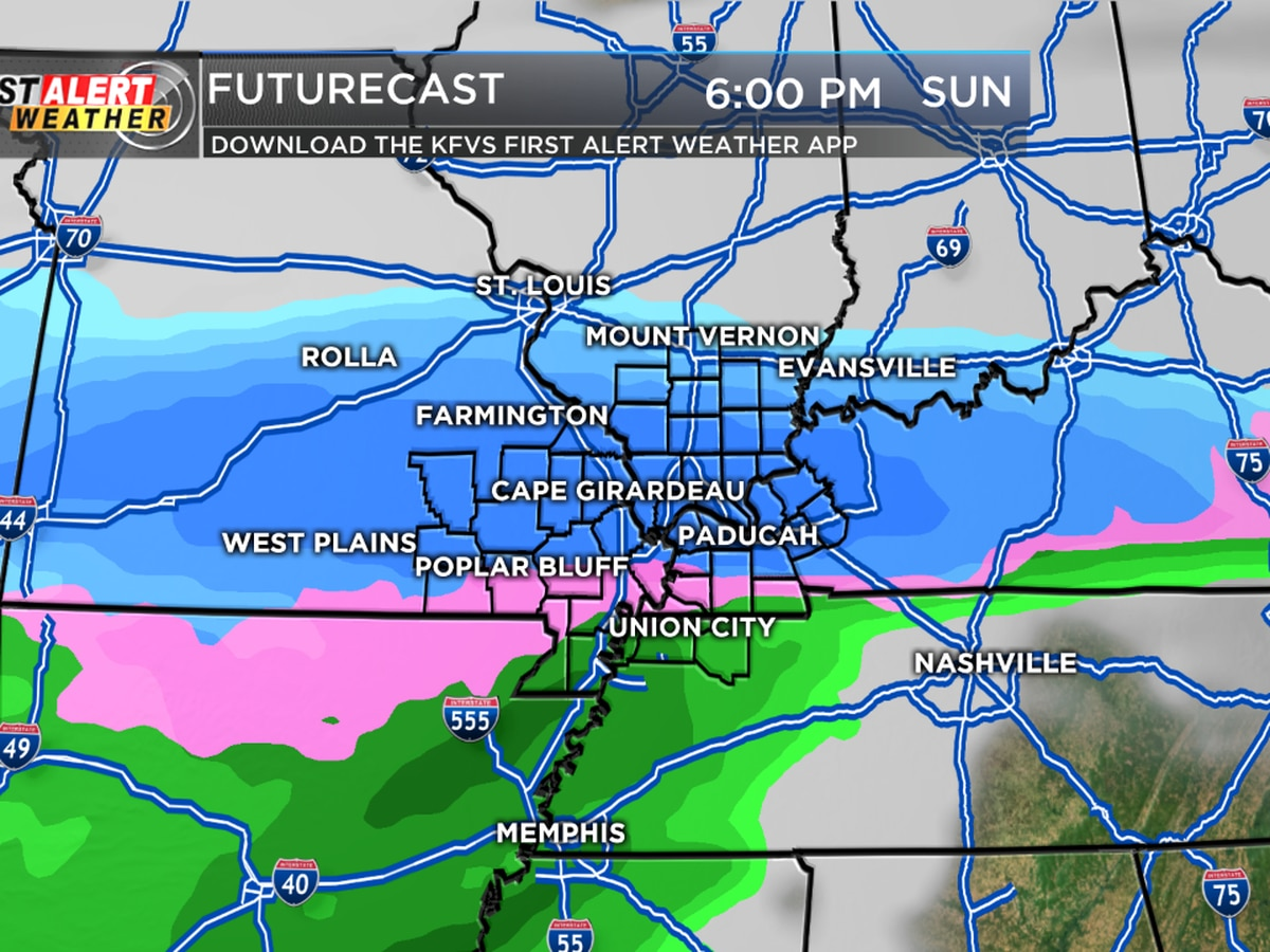 First Alert: Calm week ahead of potential winter storm