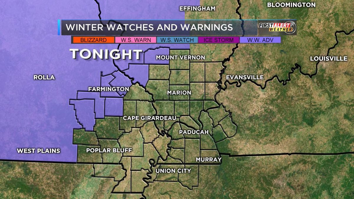 FIRST ALERT: Cold, cloudy Saturday morning; advisories issued for evening