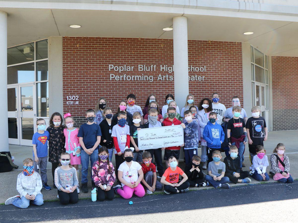 Poplar Bluff students helps raise money for St. Jude
