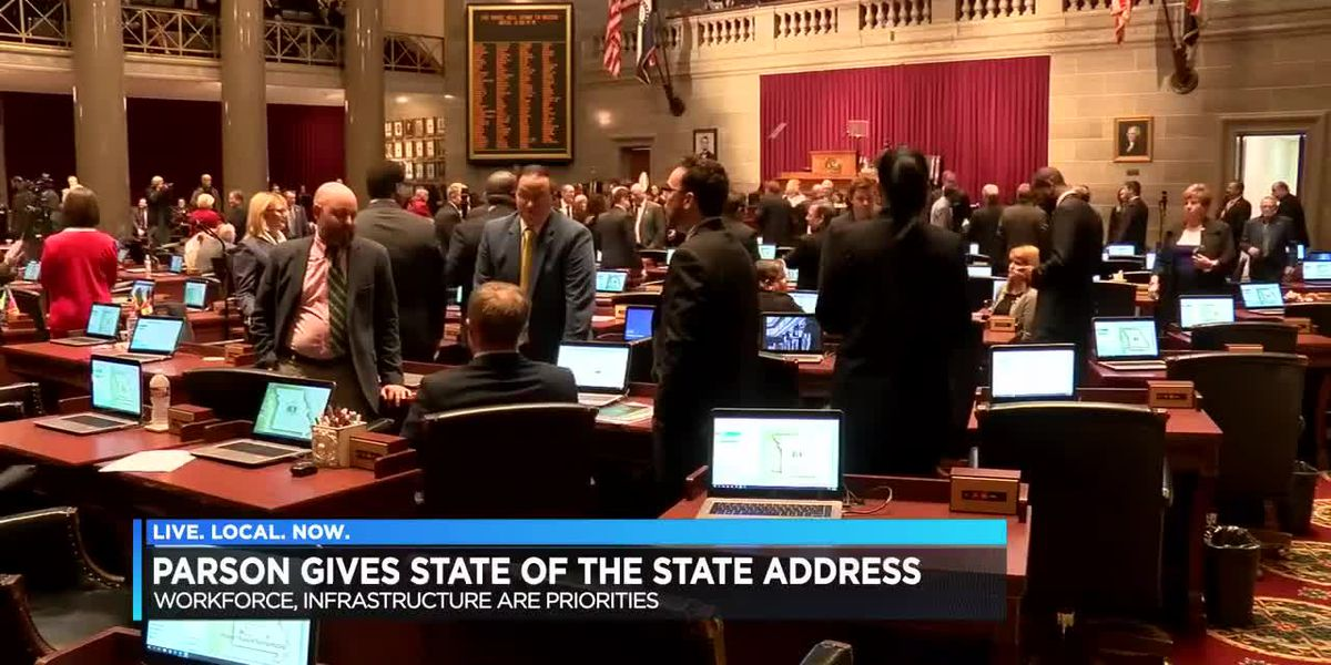 MO Gov. Parson delivers 2019 State of the State Address