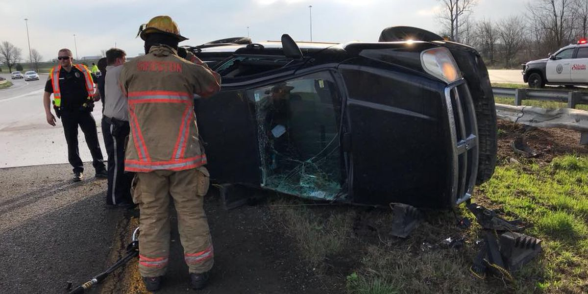 Woman injured in rollover crash on ramp near Sikeston, MO