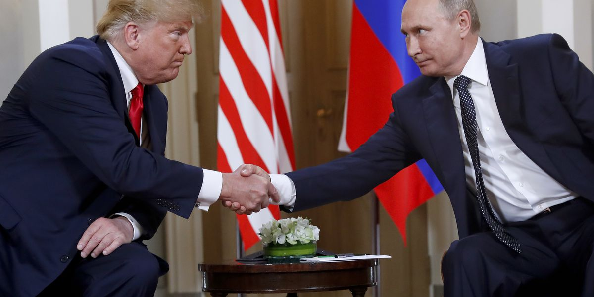 Trump discusses 'Russian Hoax' in long call with Putin