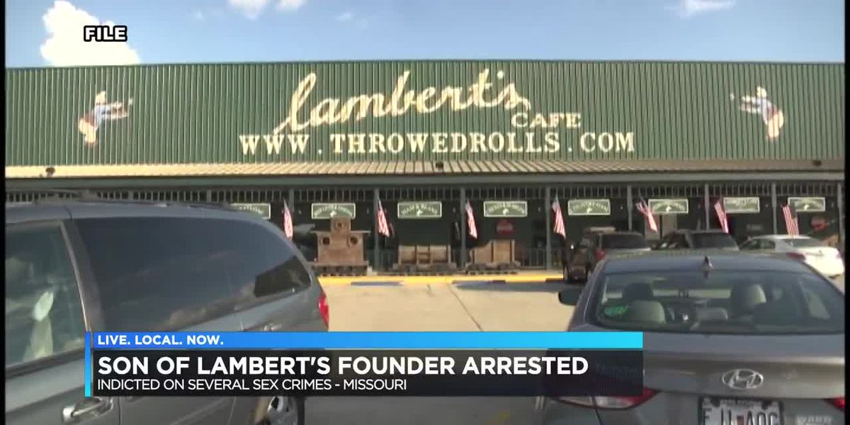 Son of Lambert's Cafe founder indicted on sex-trafficking charges