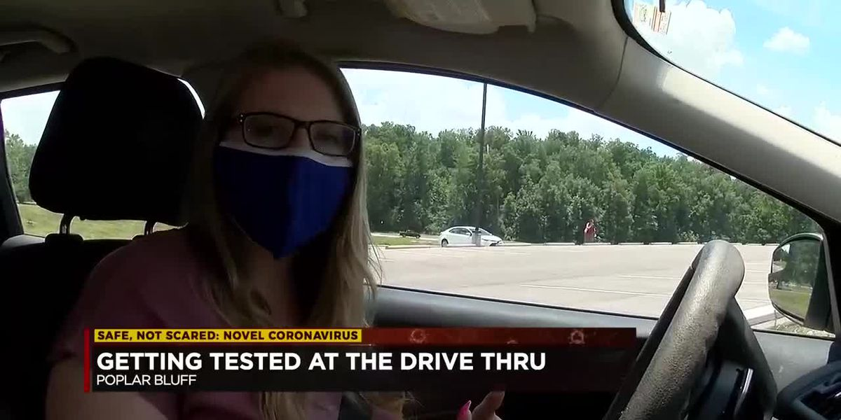 What can you expect during a COVID-19 drive-thru test?