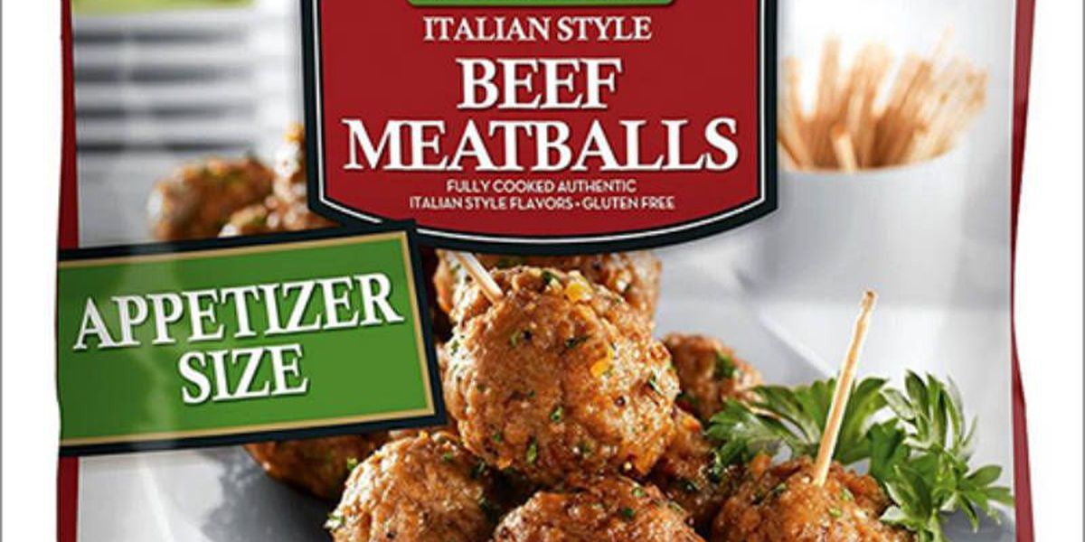 Meatballs recalled due to possible listeria contamination