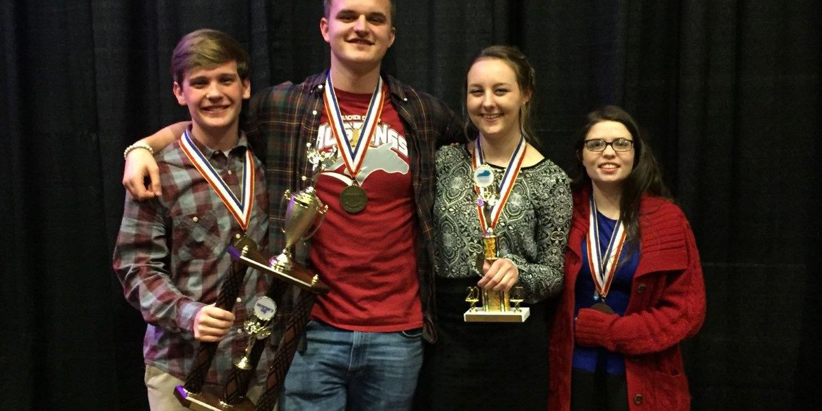 MCHS Future Problem Solving team wins State Runner-Up