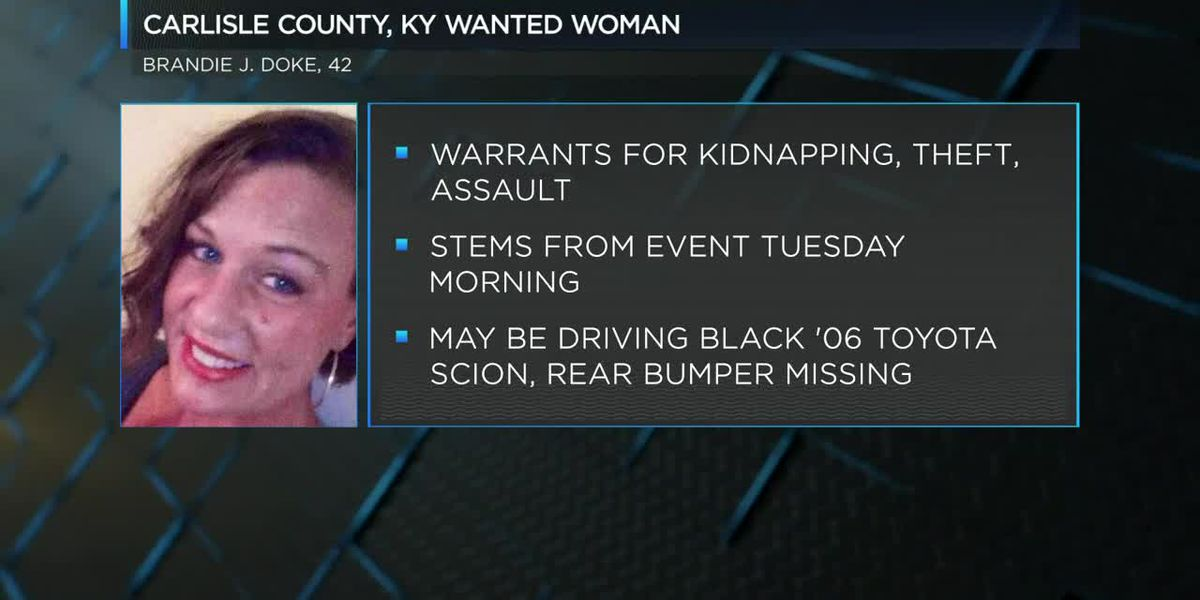 Carlisle County woman wanted