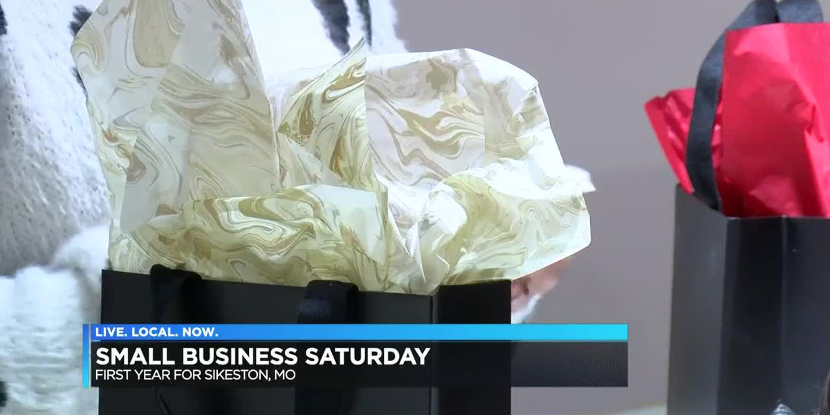 Sikeston holds small business Saturday for the first time