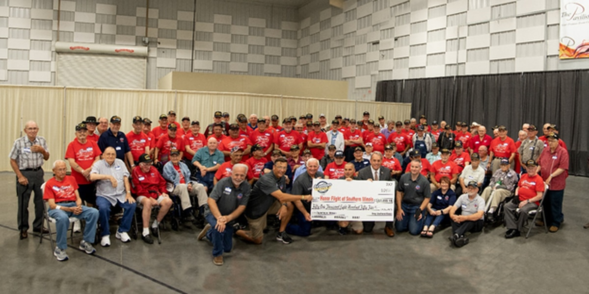 More than $50K donated to Veterans Honor Flight of Southern Illinois