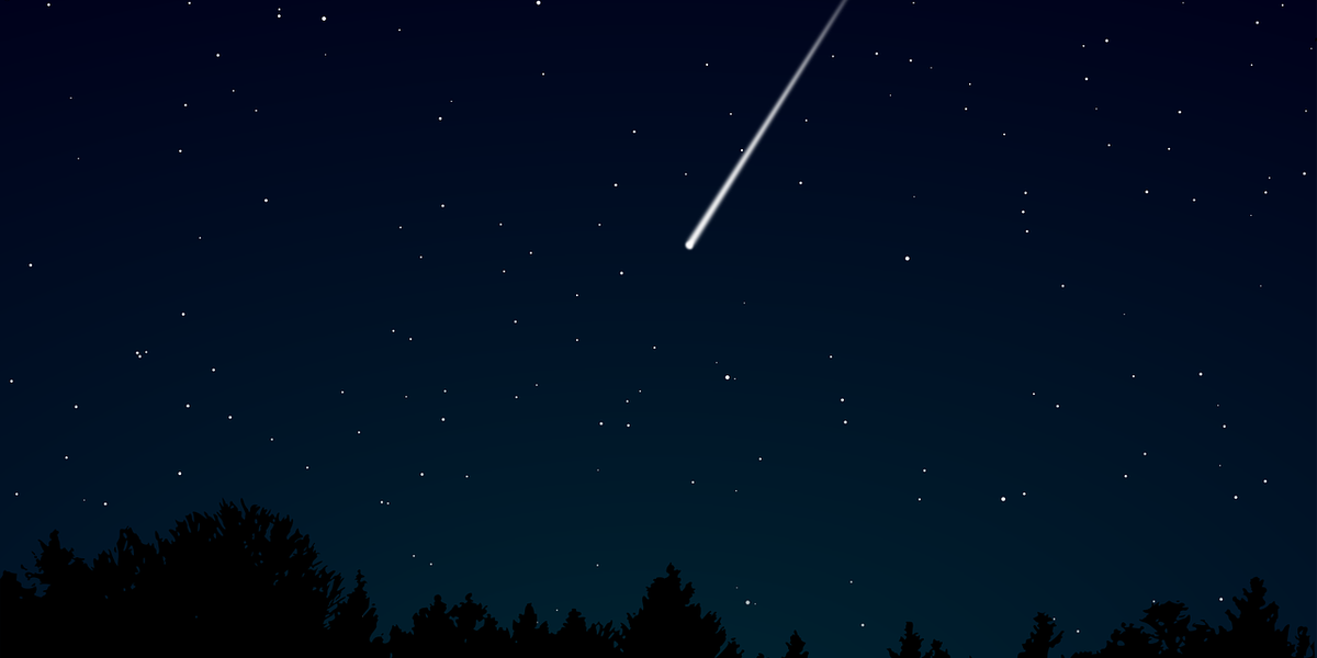 Meteor shower peaks tonight!
