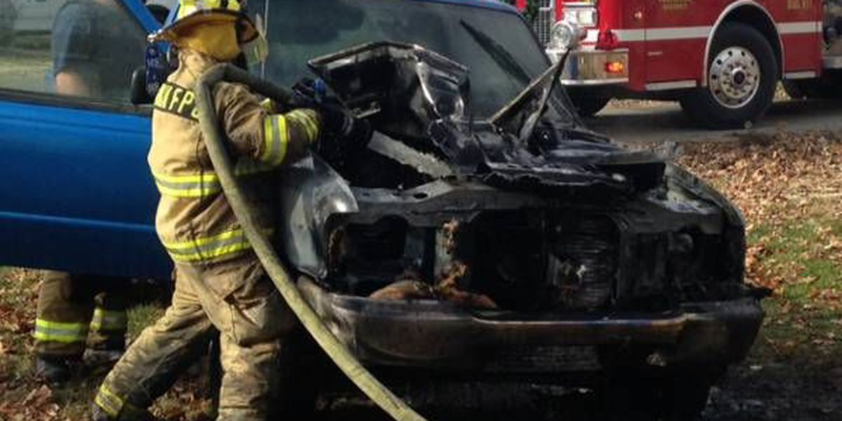 No injuries after truck fire in Oran, MO