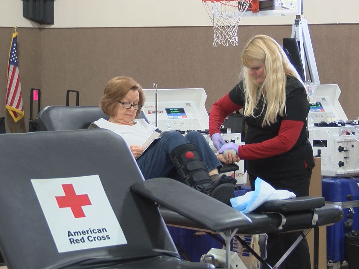 Red Cross issues call for blood after shortages due to weather