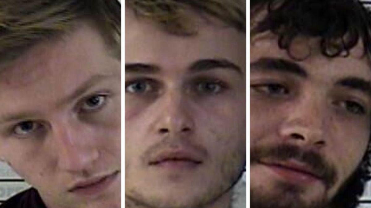 3 arrested on burglary, wanton endangerment charges