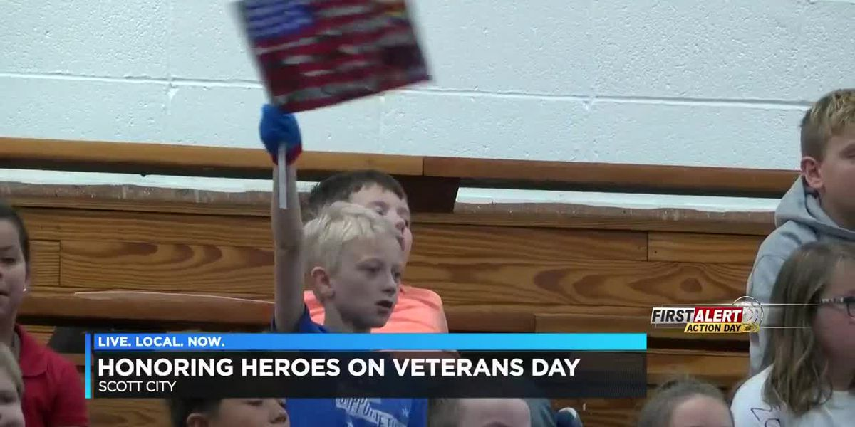 Scott City schools honor veterans with program