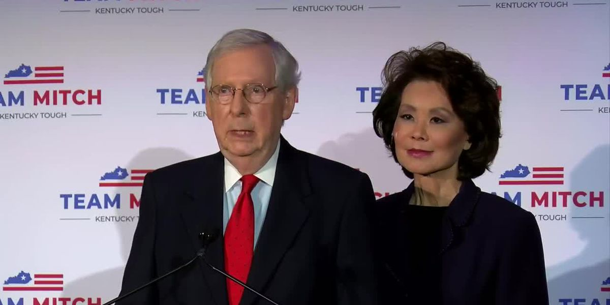 Sen. McConnell discussed 2020 General Election results