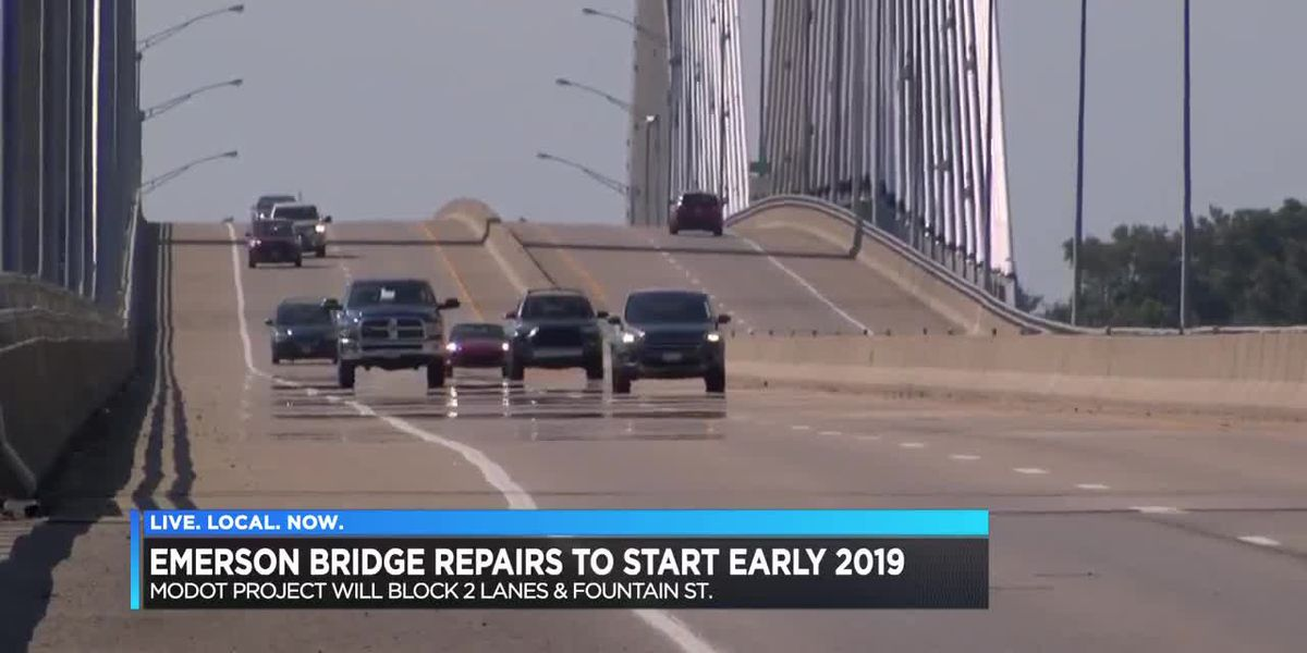 Bill Emerson Bridge repairs scheduled for 2019