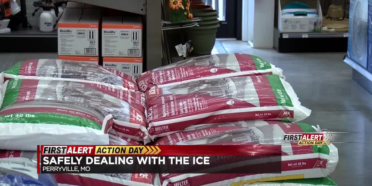 Dealing safely with the ice