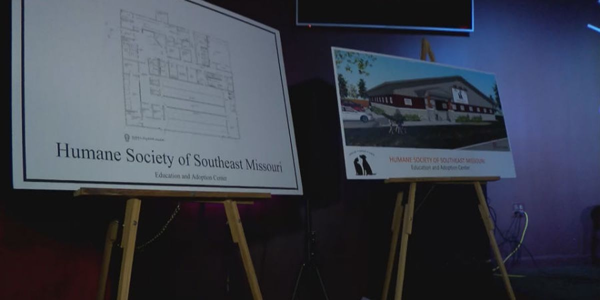 Humane Society of Southeast Mo. kicks off public campaign for new building