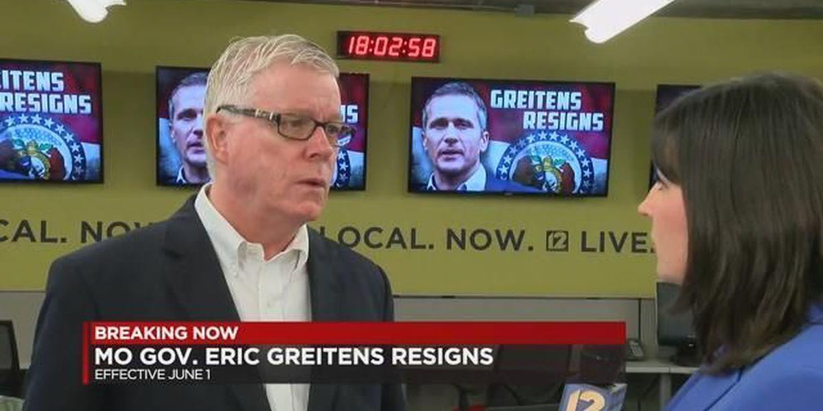 Former MO Lt. Gov. Kinder speaks on Greitens' resignation