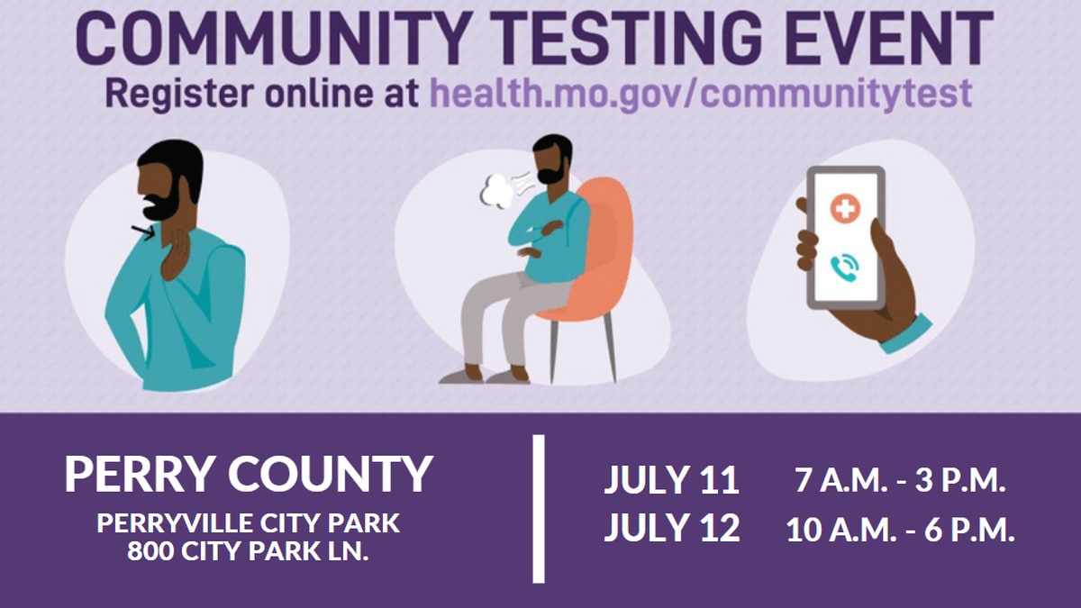 Free COVID-19 testing event in Perry Co., Mo.