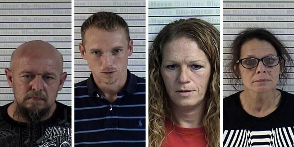 4 arrested in connection to Graves Co. stolen trailer investigation