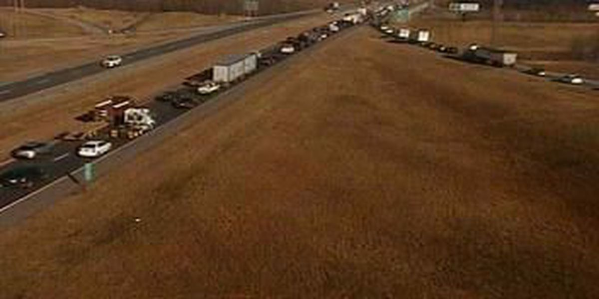 All NB lanes of I-55 reopened in Cape Girardeau after crashes