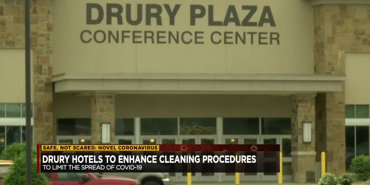 Drury Hotels announces new cleaning and disinfecting procedures