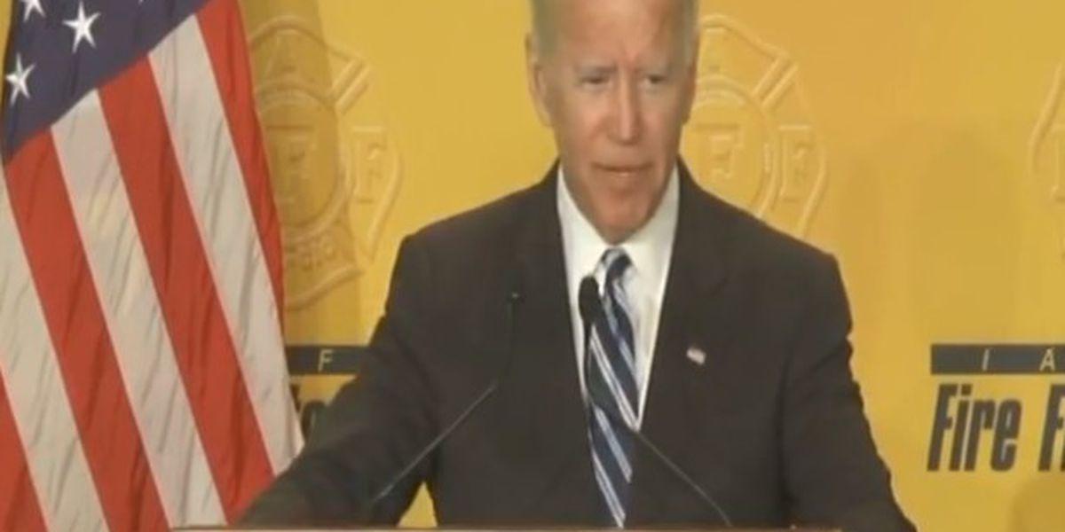 Former Vice President Joe Biden to speak at Firefighters conference