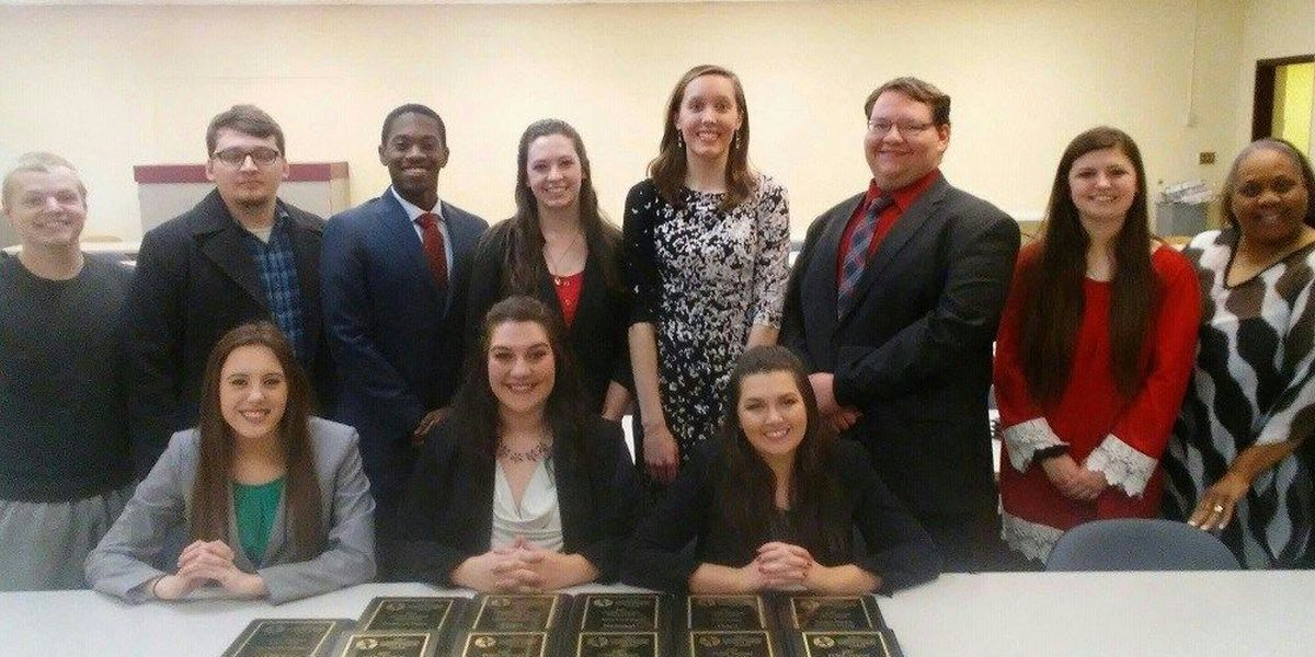 Murray State University speech and debate union win 17 awards