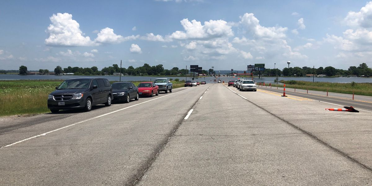 Route 146 between Bill Emerson Memorial Bridge, East Cape closes to all traffic