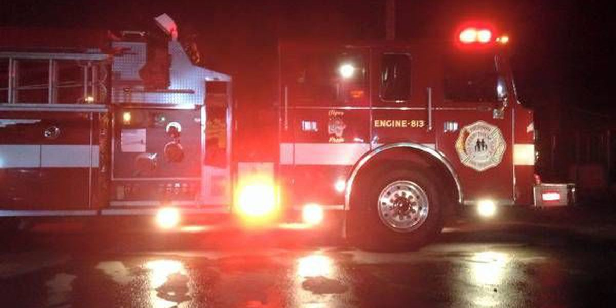 Crews battling fire in Colp, IL