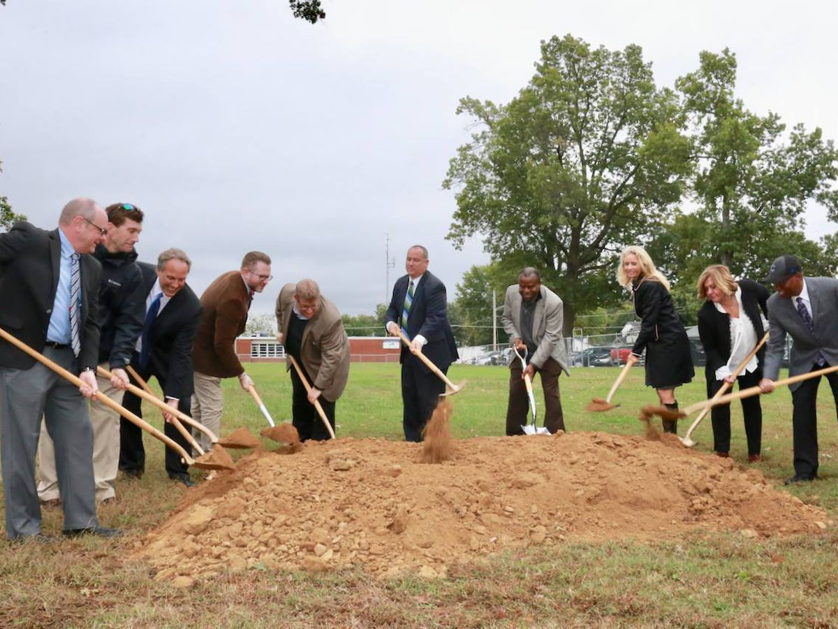 Groundbreaking held for Paducah Innovation Hub