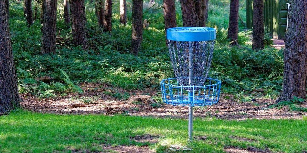 Disc golf available at Jackson, MO park