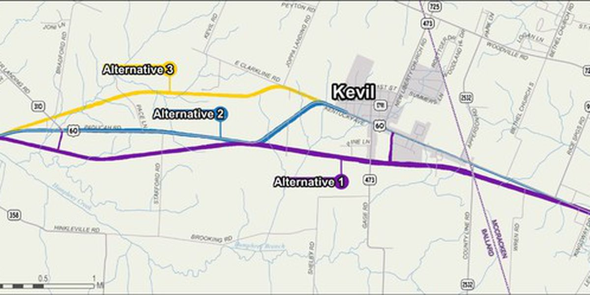 Dozens attend online public hearing for U.S. 60 project in Ballard Co., Ky.