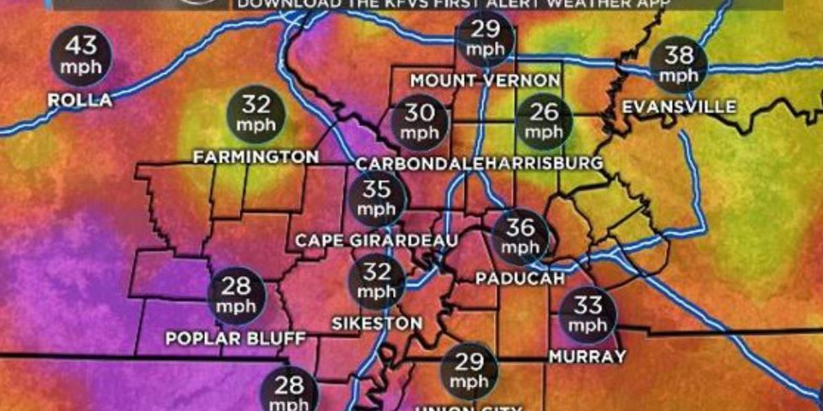 First Alert: Chilly feels-like temps, gusty winds continue into the afternoon