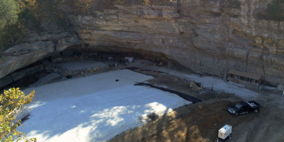 Live music to return to historic cave amphitheater