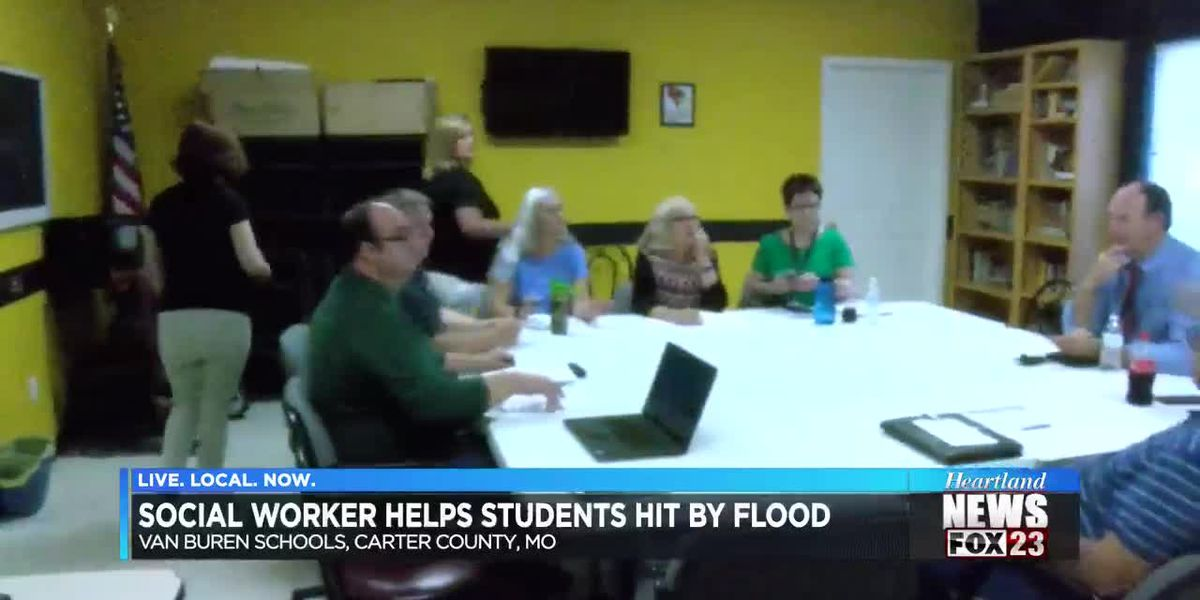 After historic flooding, counseling helps students in Carter Co., MO