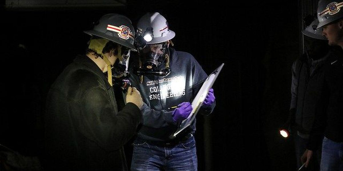 SIU mine rescue team takes fourth place in competition